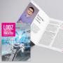 lodzDesign and layout of magazines LODZ CREATES INNOVATION